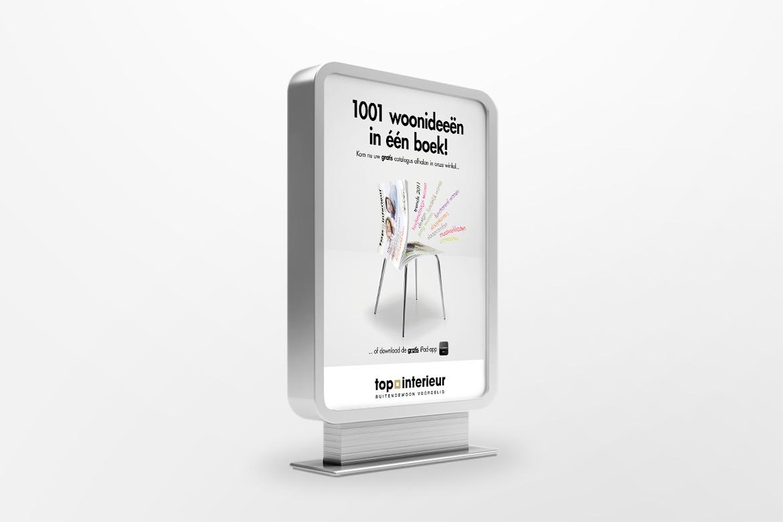 Campagne Top Interieur catalogus | Reclamebureau Visueel Advertising ...